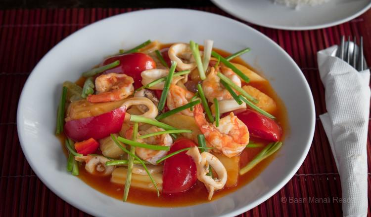 Sweet And Sour Seafood